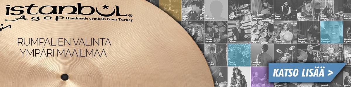 Istanbul symbaalit - Rumpalien valinta - ympäri maailmaa