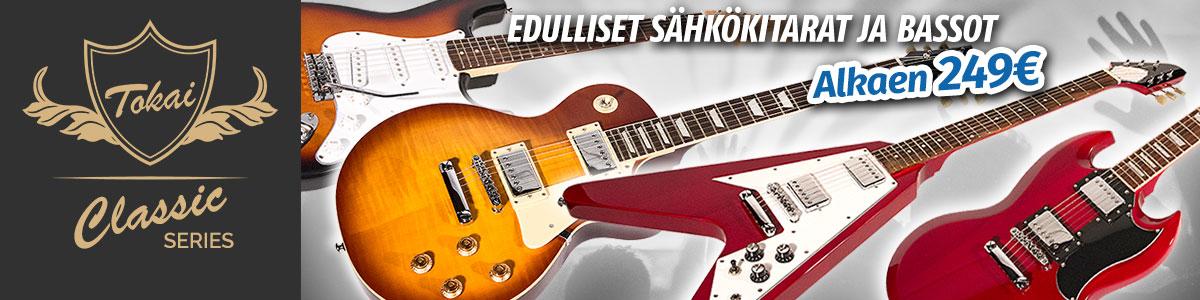 Tokai Classic Series - Edulliset sähkökitarat ja bassot