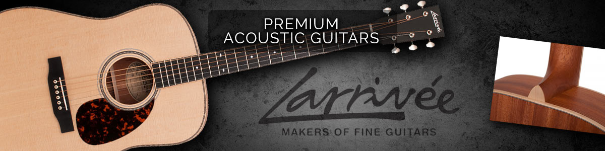 Larrivee - Premium Acoustic Guitars