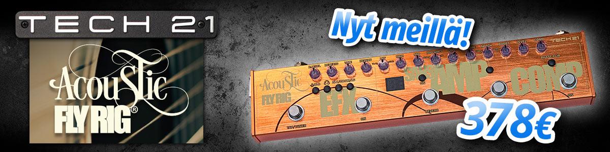 Tech 21 Acoustic Fly Rig - Nyt meillä!