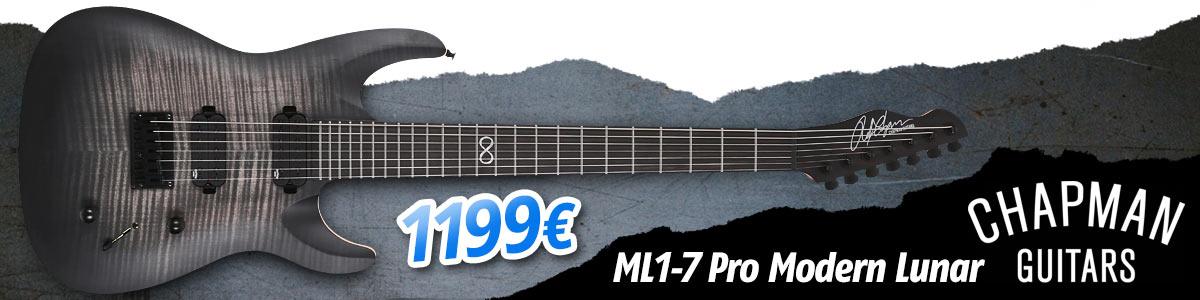 Chapman ML1-7 Pro Modern Lunar - 1199eur