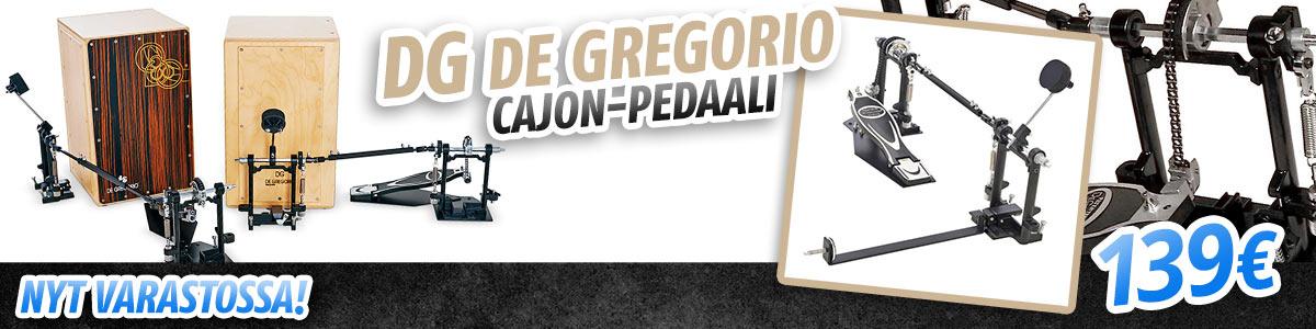 Nyt saatavana: DG De Gregorio cajon-pedaali - 139€