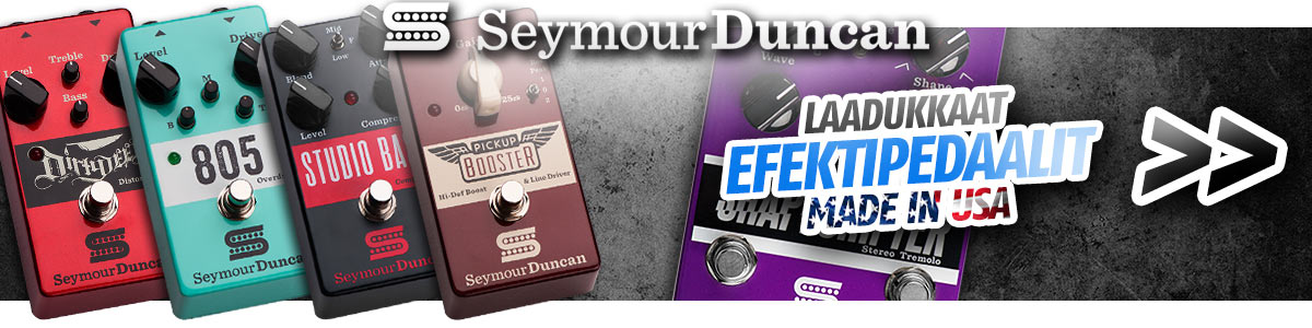 Seymour Duncan laadukkaat kitarapedaalit - Made in USA