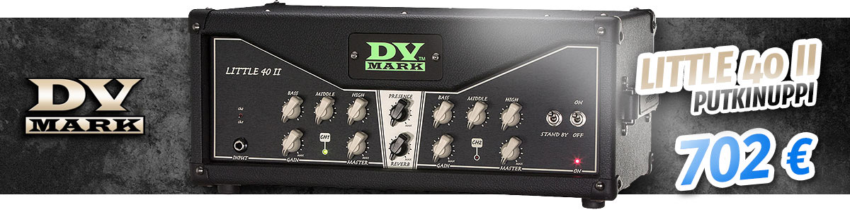 DV Mark Little 40 II putkinuppi - 702€