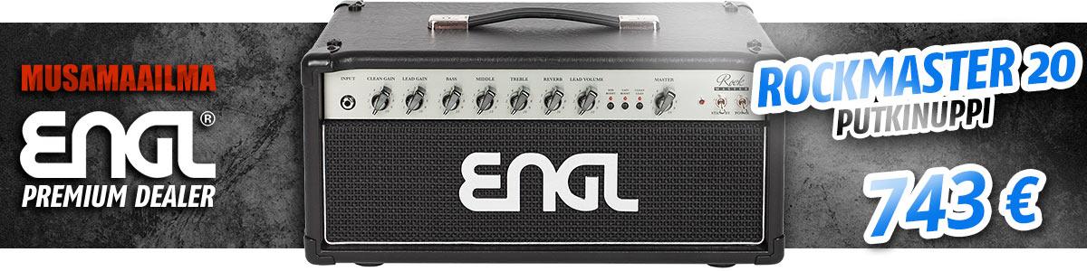 ENGL Rockmaster 20 Kitaranuppi - Premium Dealer -hintaan!