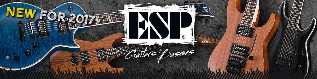 ESP Guitars & Basses - New 2017