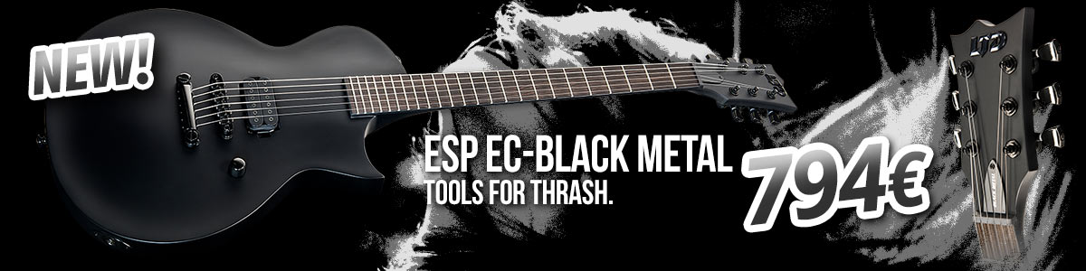 New: ESP LTD EC-Black Metal