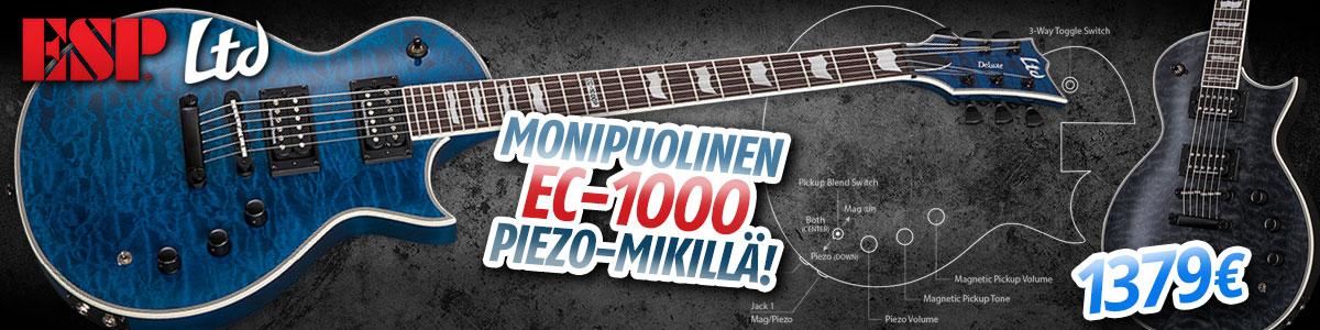 ESP EC-1000 Piezo - Nyt 1379€