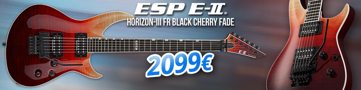 ESP E-II Horizon-III FR Black Cherry Fade - 2099 €
