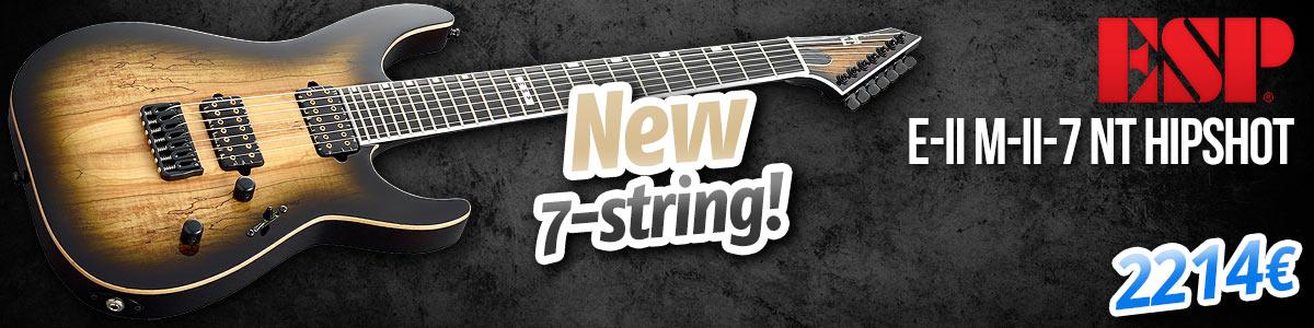New 7-string ESP E-II Model!