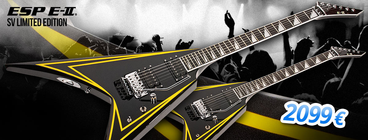 ESP E-II SV Limited Edition - 2099 €