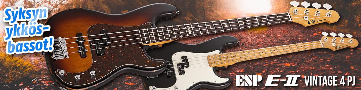 Syksyn ykkösbasso: ESP E-II Vintage 4 PJ