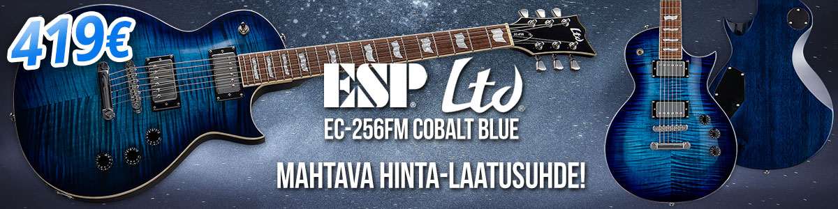 Mahtava hinta-laatusuhde: ESP LTD EC-256FM Cobalt Blue - 419 €