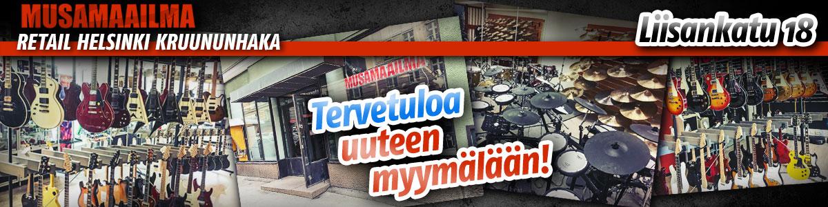 Helsingin myymälä palvelee nyt osoitteessa Liisankatu 18!