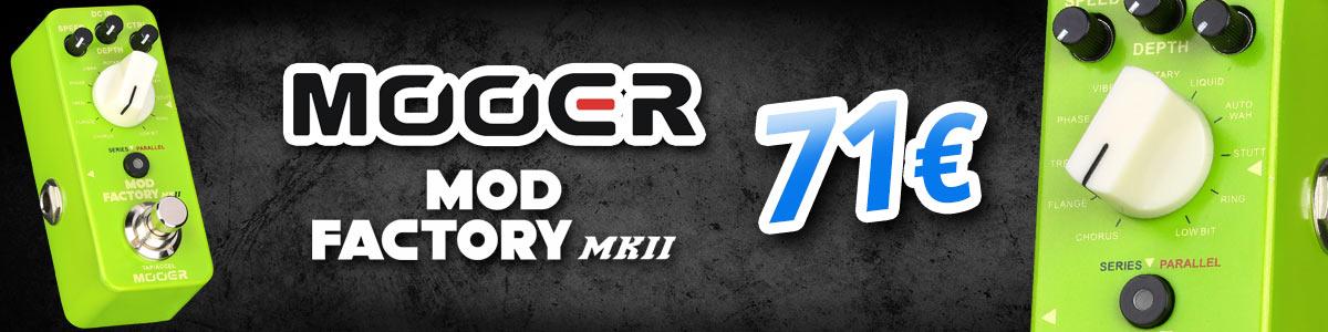 Mooer Mod Factory MKII - 71€ - nyt varastossa!