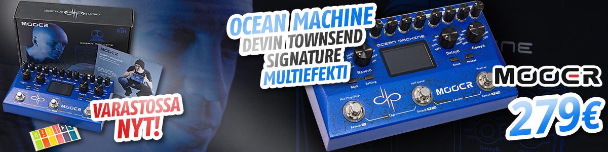 Mooer Ocean Machine Devin Townsend Signature multiefekti - Nyt varastossa!