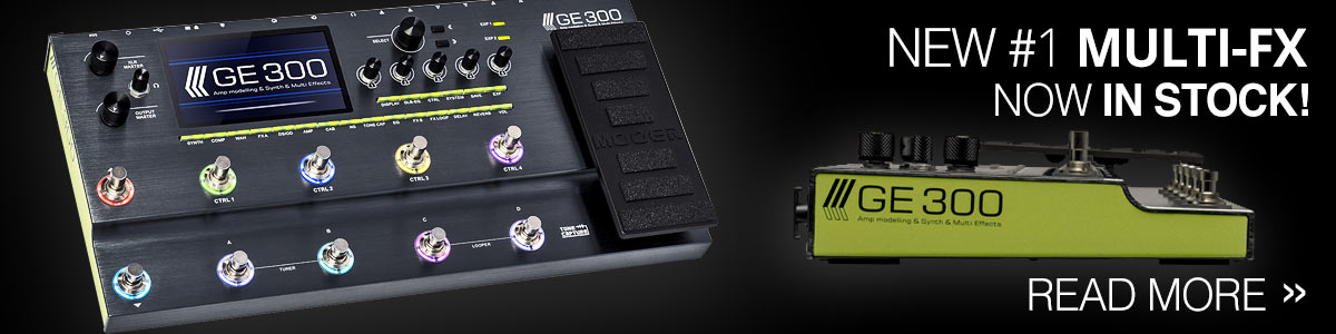 Mooer GE300 - New Flagship Multi-FX Now In Stock!