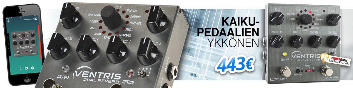 Source Audio Ventris Dual Reverb - Kaikupedaalien ykkönen
