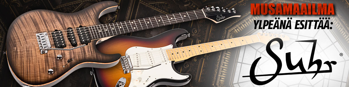 Musamaailma ylpeänä esittää: Suhr kitarat!