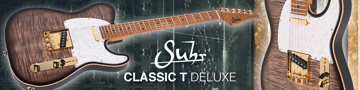Suhr Classic T Deluxe - Nyt meillä!