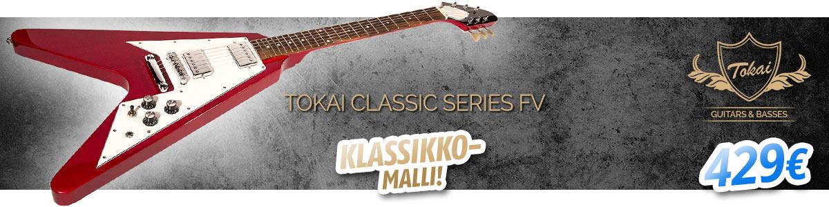 Tokai Classic Series FV klassikkomalli - 429€