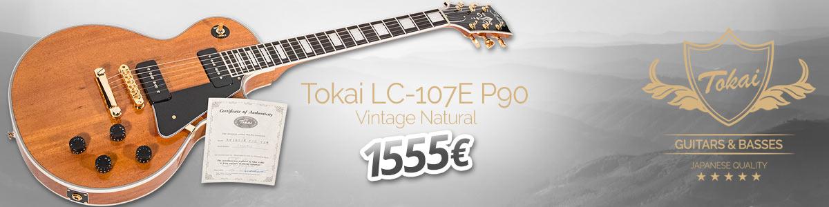 Tokai LC-107E P90 - 1555eur