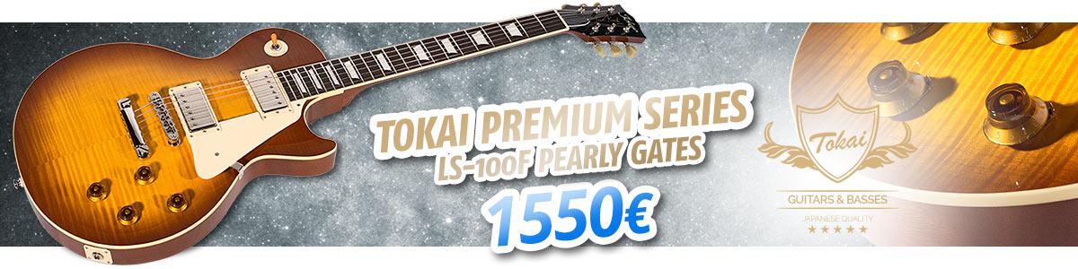 Tokai Premium Series LS-100F Pearly Gates sähkökitara - 1550€