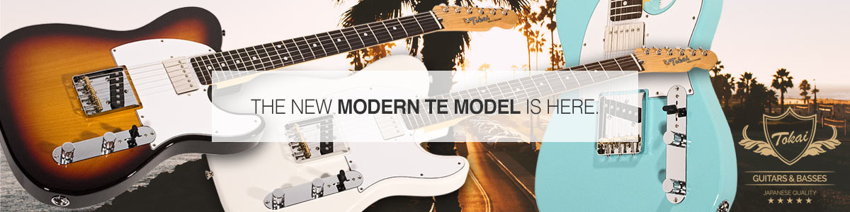 The New Tokai TTE-50 Modern Model Is Here.