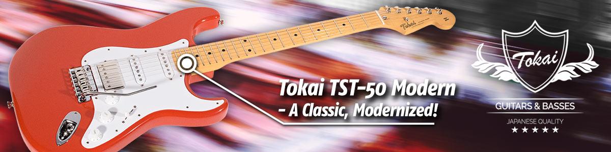 A Classic, Modernized: Tokai TST-50 Modern Maple HSS