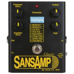 Tech 21 SansAmp SA1 Classic Reissue Etuastepedaali