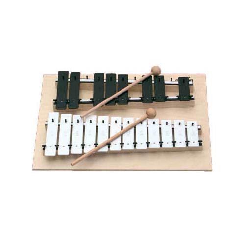 GOLDON 11070 Chromatic Glockenspiel, 20 bars
