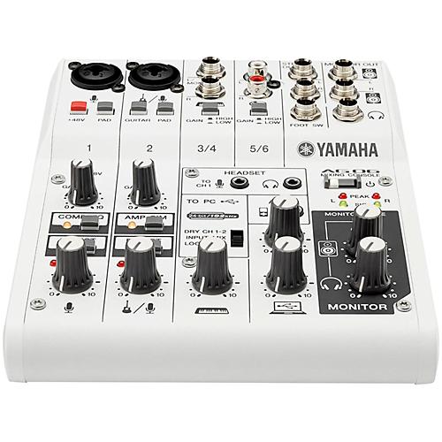 YAMAHA AG06 USB-mikseri ja äänikortti