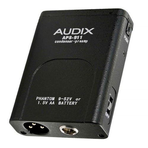 AUDIX APS911 Condenser Preamp Phantom-adapteri