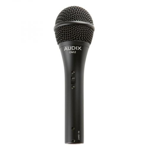 Audix OM2S Kapulamikrofoni kytkimellä