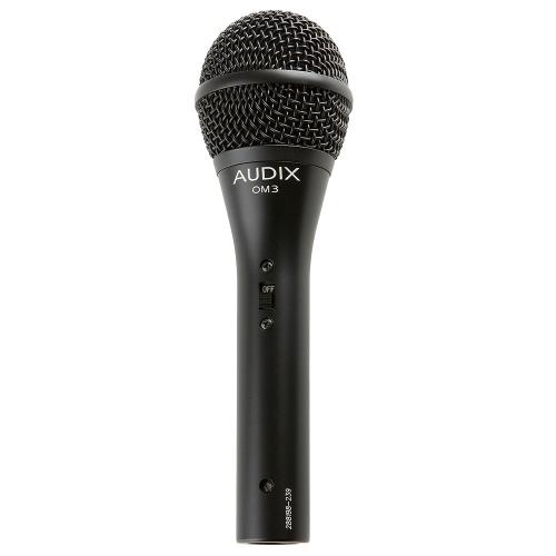 Audix OM3S Kapuluamikrofoni kytkimellä