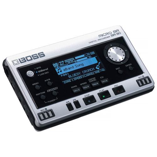 BOSS BR-80 Micro BR Digitaalinen tallennin, 8 raitaa