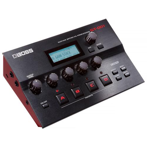 BOSS GT-001 Guitar Effects Processor Table Top multiefekti