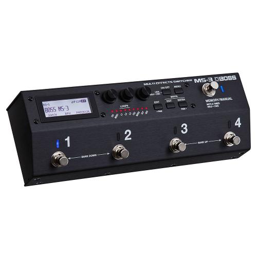 BOSS MS-3 Multi Effects Switcher Efektipedaali
