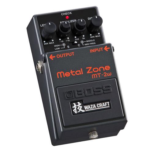 BOSS MT-2W Waza Craft Metal Zone Effects Pedal
