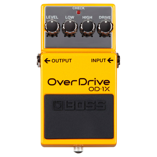 BOSS OD-1X  Special Edition overdrive pedaali