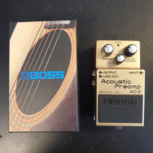 BOSS AD-2 Acoustic Pre Amp (KÄYTETTY)