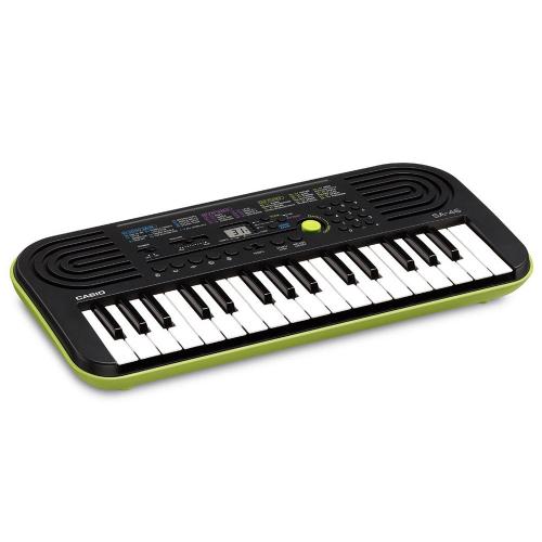 CASIO SA-46 Lime Green Keyboard