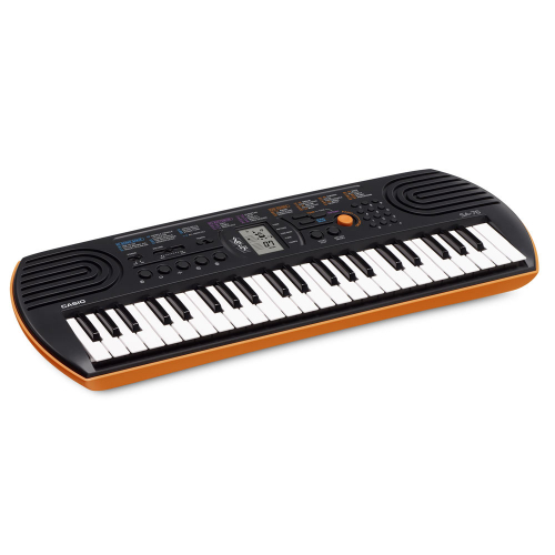 CASIO SA-76 Orange Keyboard