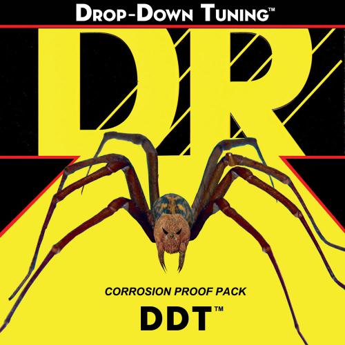 DR Strings Drop-Down Tuning DDT Custom 13-65 26w Sähkökitaran kielisetti