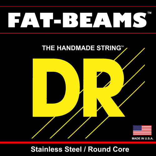 DR Strings Fat Beams MM5-45 (45-125) 5-String Electric Bass String Set