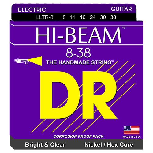 DR Strings Hi-Beam LLTR-8 (8-38) Sähkökitaran kielisetti