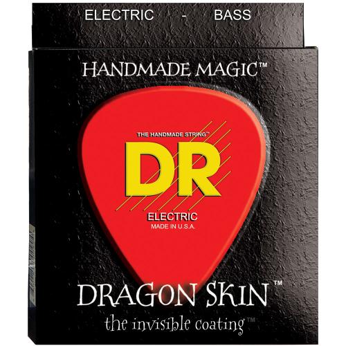 DR Strings K3 Dragon Skin DSB-45/100 (45-100) Electric Bass String Set