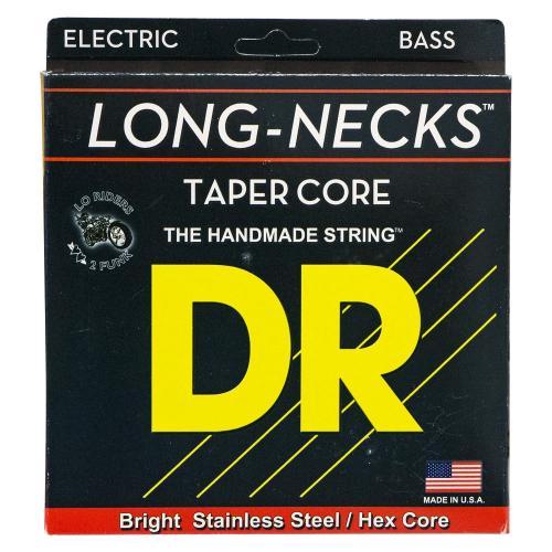 DR Strings Long Necks Custom TLH5-40 (40-120) 5-kielisen sähköbasson kielisetti