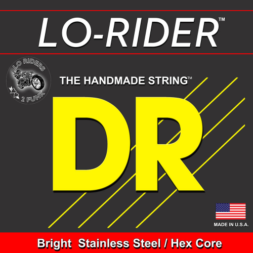 DR Strings Lo-Rider H-40 Basson irtokieli