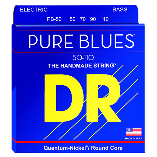 DR Strings Pure Blues PB-50 (50-110) Electric Bass String Set